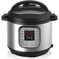 Amazon Warehouse Deal: Instant Pot IP-DUO60 7-in-1 Programmable Pressure Cooker - Used Very Good $61 Shipped