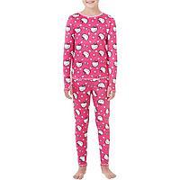 Girls' Cuddl Duds ClimateRight Fleece Warm Underwear Set