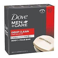 10-Ct Dove Men+Care Body/Face Bar (Deep Clean or Extra Fresh)