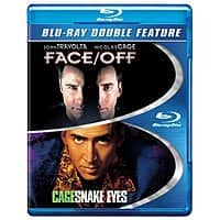 Blu-Ray Double Feature Movies: Face/Off + Snake Eyes