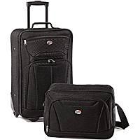 American Tourister Fieldbrook II 2-Piece Luggage Set (Black)