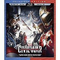 Prime Members: Captain America: Civil War (3D/Blu-Ray/Digital)
