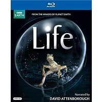 Life: Narrated by David Attenborough (Blu-Ray)