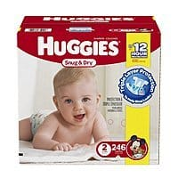 Prime Members w/ Family: Huggies Diapers 246-Count Size 2