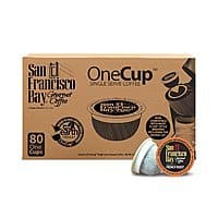 80-Count San Francisco Bay Single Serve OneCup (French Roast)