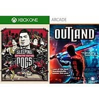 Xbox Digital Games: Sleeping Dogs: Definitive Edition or Outland