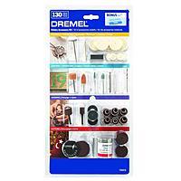 130-Piece Dremel All-Purpose Rotary Accessory Kit w/ Case