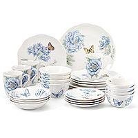 28-Piece Lenox Butterfly Meadow Dinnerware Set (Blue)
