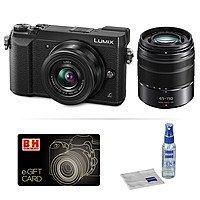 Panasonic DMC-GX85 Camera w/ Lens Bundle w/ $100 B&H Photo eGC
