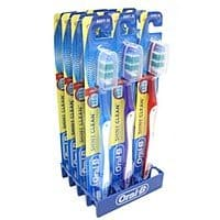 12-Pack Oral-B Shiny Clean Soft Toothbrushes