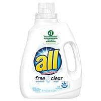 94.5oz. All Free Clear Liquid Laundry Detergent + $5 Target GC