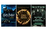 Movie Collection Bundle (HD Digital Download): Harry Potter Complete Collection, The Lord of the Rings Trilogy, The Matrix Trilogy & More  $10 each