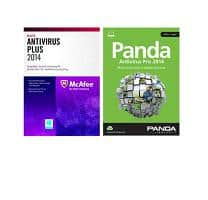 Free after Rebate Software: McAfee AntiVirus Plus 2014, McAfee Total Protection 2014, Panda AntiVirus Pro 2014 & More  Free after Rebate + Free Shipping