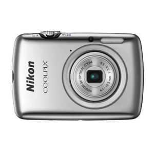Nikon Coolpix S01 10.1 Megapixel Digital Camera in Silver (refurbished) for $29.00 with free shipping