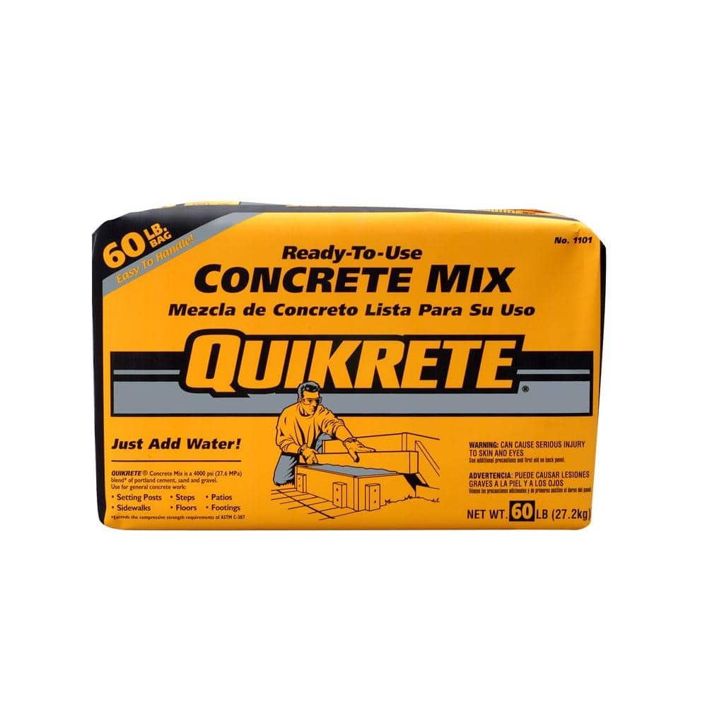 60 lb. Concrete Mix $1.99 free pick up home depot