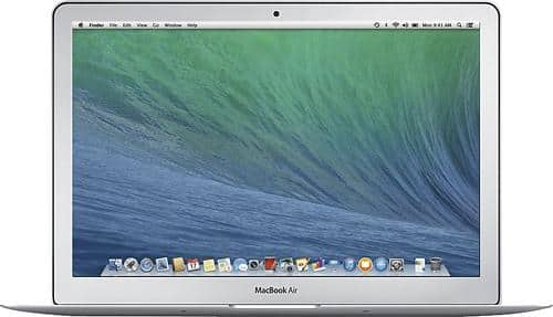 """Apple 13.3"""" MacBook Air: Core i5, 4GB DDR3, 128GB SSD, 13.3"""" 1440x900 LED  $750 + Free Shipping (.Edu Email Required)"""