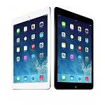 "16GB Apple iPad Air 9.7"" WiFi Tablet w/ Retina Display (Black or White)  $400 or Less + Free Shipping"