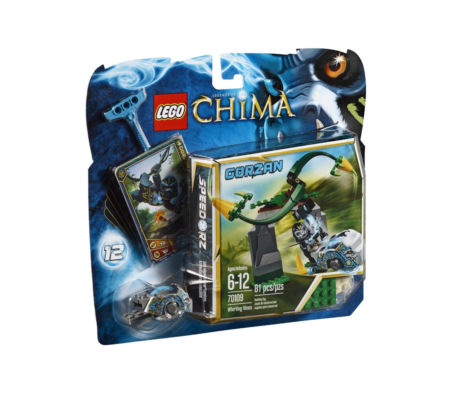 LEGO Chima Building Sets: Tower Target $6, Whirling Vines  $5