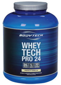 BodyTech Product: Buy One Get One 50% Off: 10lbs Whey Tech Pro 24 Protein Powder  $67.50 & More + Free Shipping