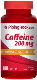 100 Caffeine Pills 200mg - $2 + Free Shipping at PipingRock.com