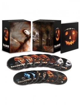 Blu-Ray Movie Sets: Halloween: The Complete Deluxe Collection  $20 & More + Shipping