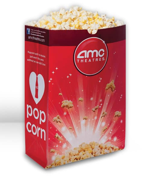 AMC Theatres Coupon: Large Popcorn  $1 (Mobile Device Required)