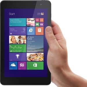 Dell Venue Pro 8, Intel Quad Core Processor, Tablet With 2GB Memory, 64GB eMMC Storage, Windows 8.1 for $178 @ Frys.com