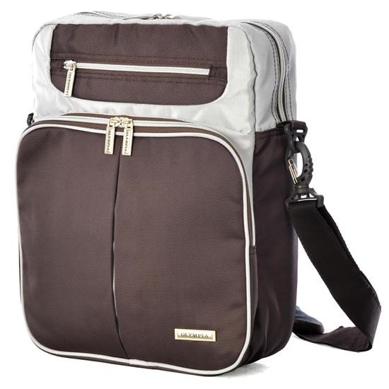 "Olympia 13.5"" Laptop Messenger Bag (Brown)  $9.50 + Free Shipping"