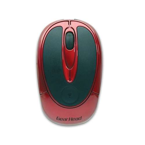 Gear Head Red & Black Wireless Optical Mouse (MP2200RED) - Free After Rebate + S&H @ TigerDirect.com