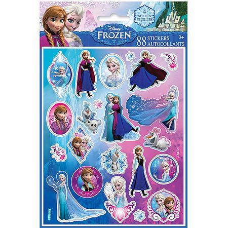 88-Count Disney's Frozen Sticker  $1 + Free In-Store Pickup
