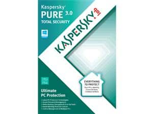 Kaspersky Pure 3.0 (3-PC)  Free or Better after $55 Rebate + Free Shipping