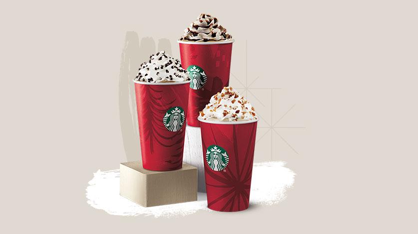 Starbucks BOGO any handcrafted beverage, Nov 12-16, 2-5 pm