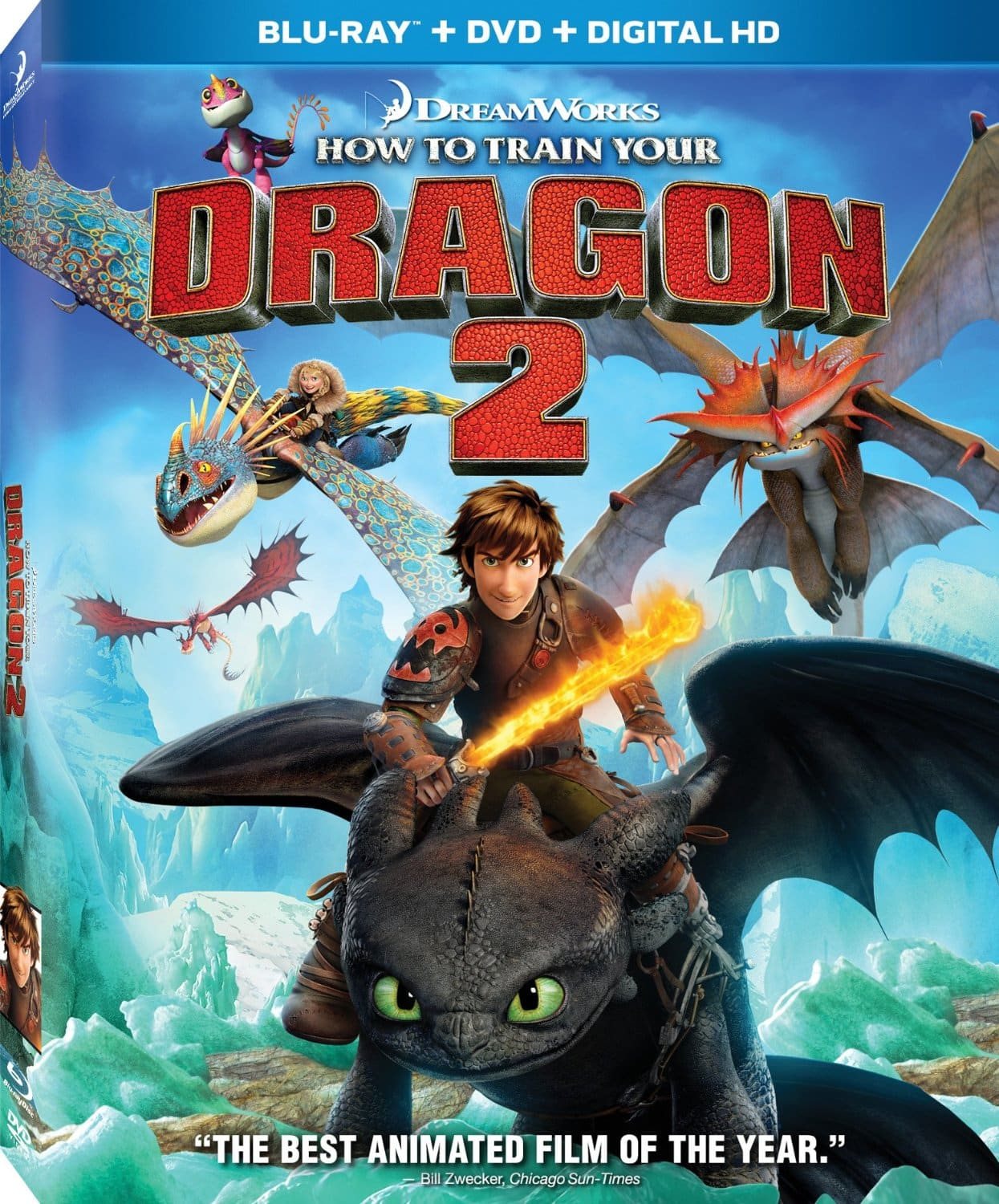 How To Train Your Dragon 2 (Blu-Ray Combo)  $10 + Free In-Store Pickup