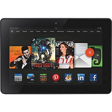 """Amazon Kindle Fire HDX 7"""" WiFi Tablet w/ Special Offers: 16GB $129 or 32GB $169 with free shipping"""