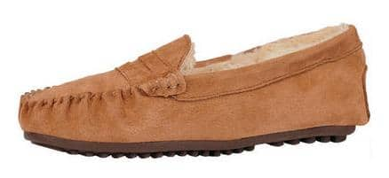 Men's or Women's Wilsons Leather Loafer Suede Slippers (various colors)  $12 + Shipping