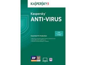 Software: Kaspersky Anti-Virus 2015, Kaspersky Internet Security 2015 & More  Free after Rebate + Shipping