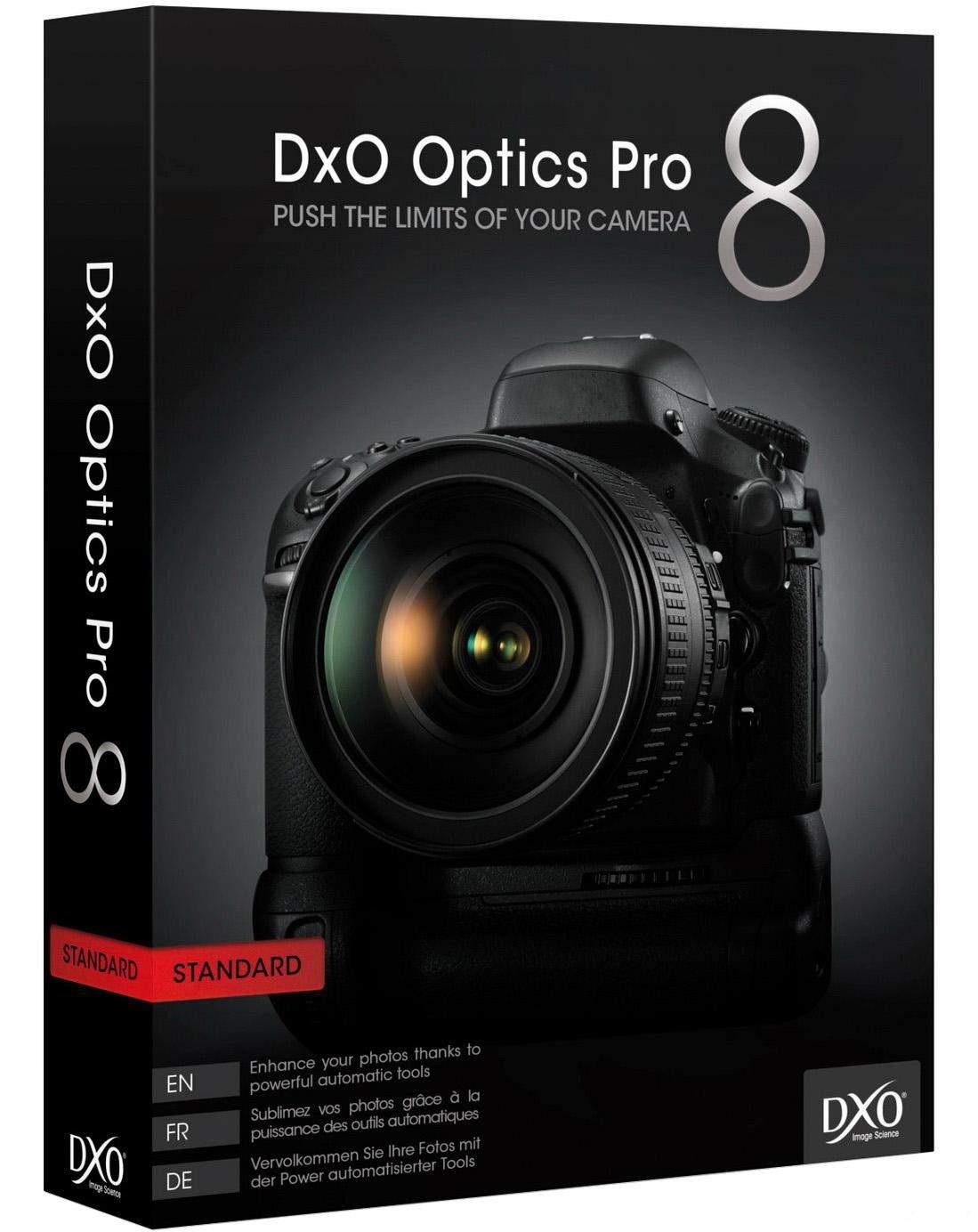 DxO Optics Pro 8 Software (PC Digital Download)  Free