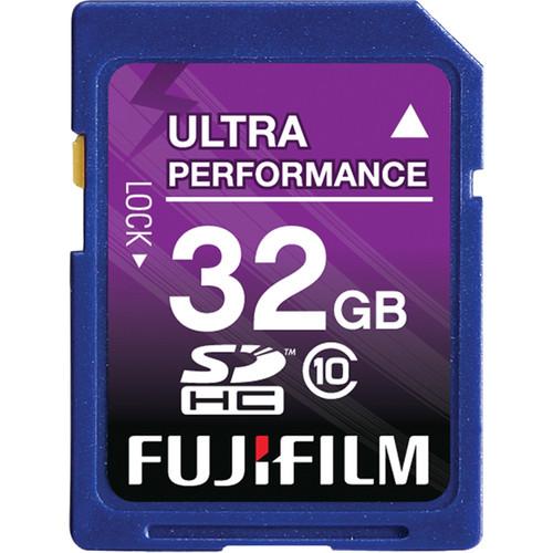 32GB Fujifilm Class 10 SDHC Memory Card $9.95 + Free Shipping