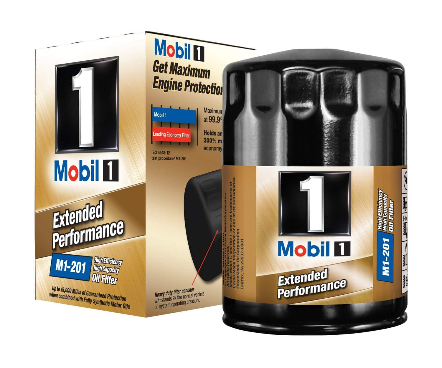 Mobil 1 Extended Performance Oil Filters: M1-110 or M1-108 $9, M1-201  $7