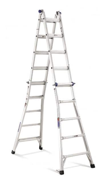 Werner 22-ft Aluminum 300-lb Telescoping Type IA Multi-Position Ladder----$116 + Tax