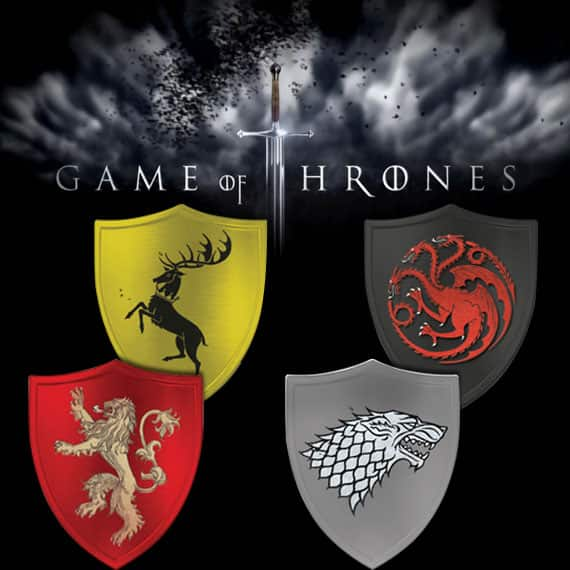 Game Of Thrones House Sigil Decals $1 Shipped