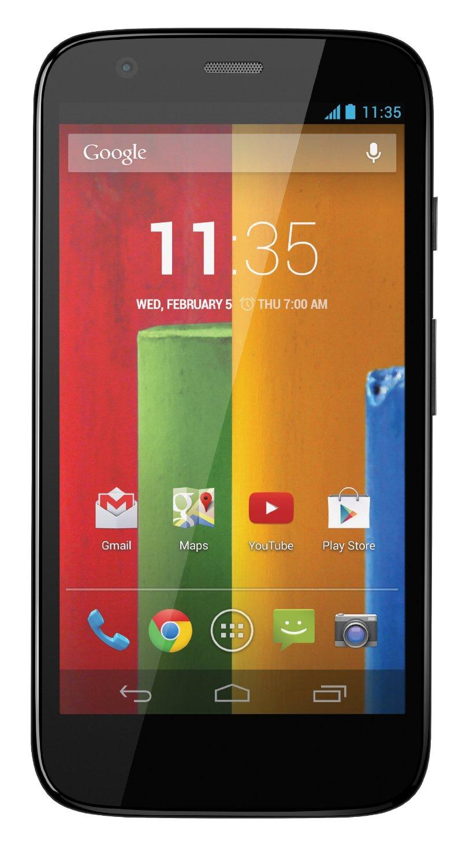 Verizon Wireless Prepaid Motorola Moto G No-Contract Cell Phone Black $19.99 + Free Store Pickup @Best Buy