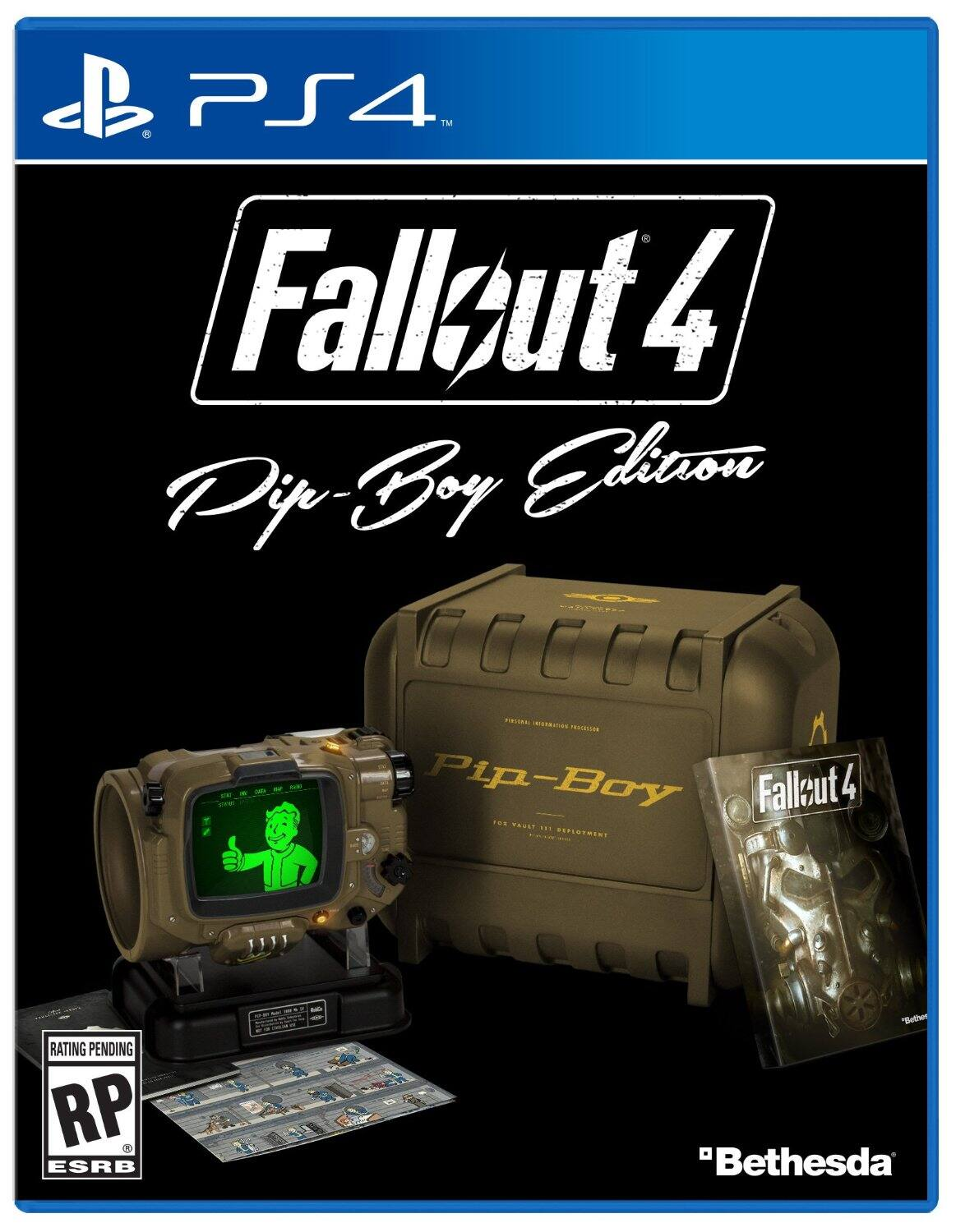Fallout 4: Pip-Boy Edition Pre-Order (PC, PS4, Xbox One)  $120 + Free Shipping