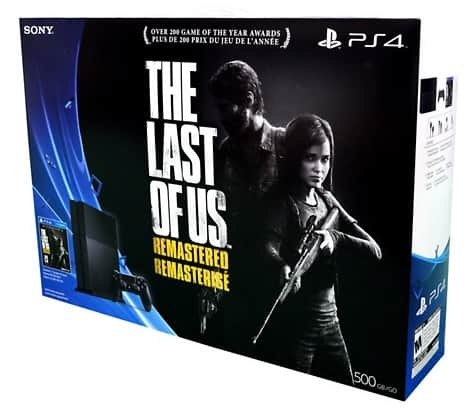 Sony Playstation 4 The Last of Us: Remastered Bundle $341.99