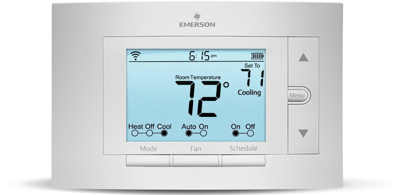 White-Rodgers UP500W Emerson Sensi Wi-Fi Thermostat, White $89.99 + FS