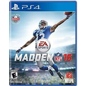 Madden NFL 16 (PS4, Xbox One) $40 + Free Shipping @Amazon