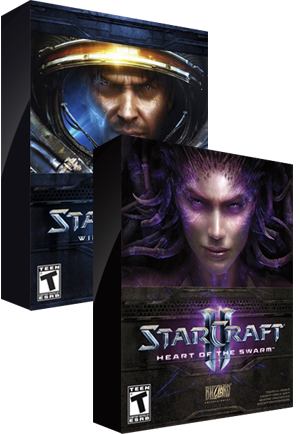Starcraft 2 and SC2 Heart of The Swarm $9.99 each