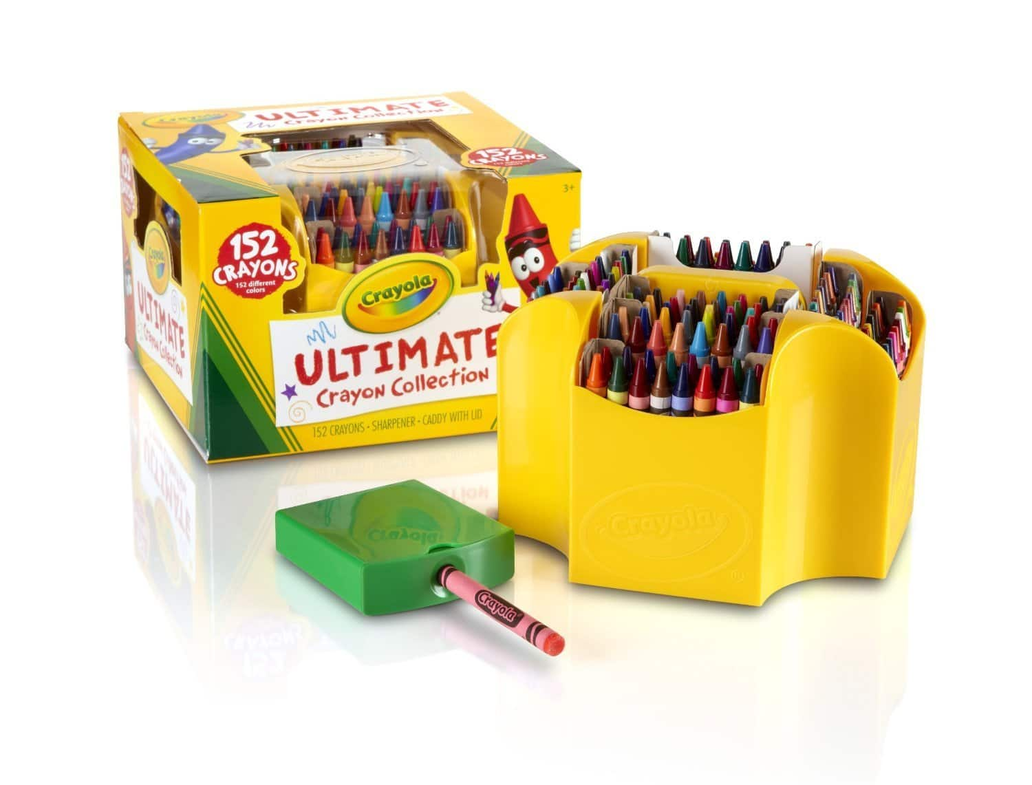 Crayola Ultimate Crayon Case (152 Crayons) $8.99 + Free Shipping w/ Prime or FSSS