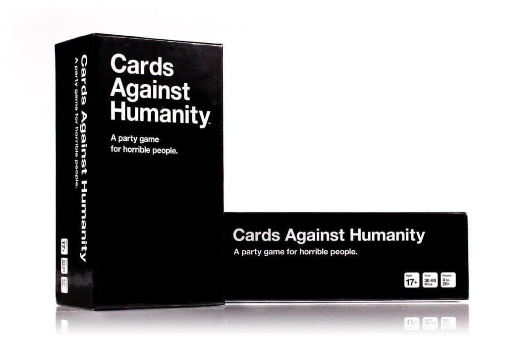 Cards Against Humanity: Base Game $20 or Expansions 1-6  $8 Each