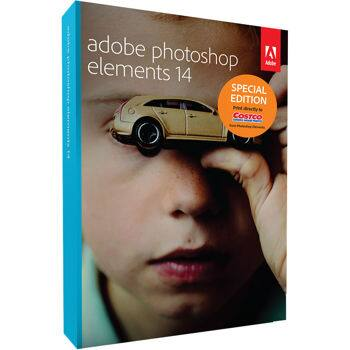 Amazon Prime Members: Adobe Photoshop Elements 14 Software  $40 + Free S/H